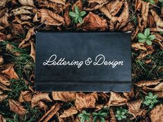 Great Lettering, Calligraphy & Type Designs | From up North