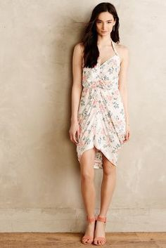 #anthroregistry Paper Crown + Rifle Paper Co. Draped Bouquet Dress