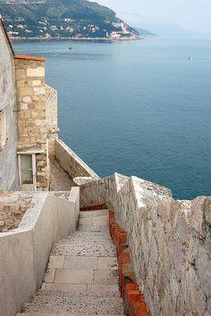 Dubrovnik, Dalmation Coast, Croatia - must go back to Croatia & Slovenia and see more of the spectacular coast line!