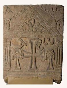 Коптские стелы VI-VII вв. из Британского музея и музея Боде, Берлин
