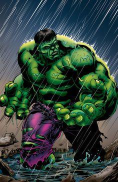 Hulk by Emil Cabaltierra