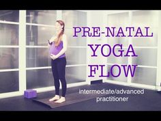 50 min Pre Natal Total Body Strong Yoga Flow | Strength, Tone, Endurance, Focus | Intermediate - YouTube