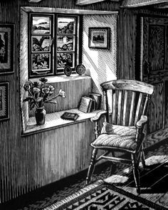 6 Inspired Tricks: Interior Painting Techniques The Family Handyman interior painting schemes shades.Interior Painting Living Room Layout interior painting tips wall colors. Pencil Art Drawings, Art Sketches, Scratchboard Art, Perspective Art, Pen Art, Paint Schemes, Wood Engraving, Light Painting, Linocut Prints