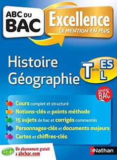 Telecharger Abc Du Bac Excellence Histoire Geographie Term Es L Pdfet Epub Le Livres Sujet Du Bac Maths Terminale S Geographie