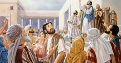 Even hearing God's voice does not cause the Jews to put faith in Jesus. What does Jesus say is the basis for judgment 'on the last day'? Joseph Of Arimathea, Isaiah 28, Jesus In The Temple, Biblical Art, The Son Of Man, Holy Week, John The Baptist, Jesus Quotes, Father And Son