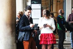 street style - London Fashion Week