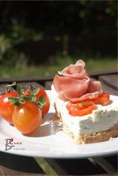 CHEESE CAKE di ricotta, pesto e pomodori | cuoca nella brianza
