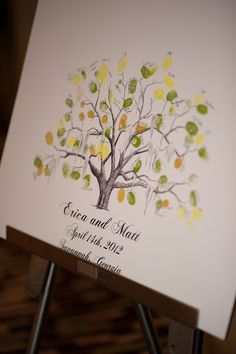 just got the best idea: paint the tree, and use the fingerprints to build our family tree <3