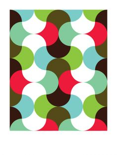 The Cherry Orchard (2010) // Geometric Art by Gary Andrew Clarke