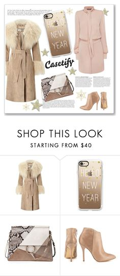 """Casetify.com"" by ruza-b-s ❤ liked on Polyvore featuring Miss Selfridge, Anja, Casetify, Chloé, Steve Madden and Alexander McQueen"