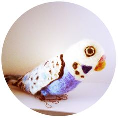 Blue Budgie by Catherine Stein skittykitty.com