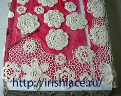 Tutorial on joining Irish Lace