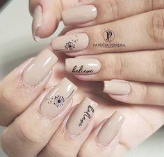 Korea Nail Art, Luv Nails, The Art Of Nails, Cute Acrylic Nails, Simple Nails, Nail Ideas, Hair And Nails, Nail Designs, Make Up