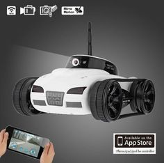 Wifi Remote Control iSpy Tank for iPad & iPhone & Android