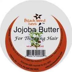 Ginkgo Jojoba Hair Butter for Thinning Hair.