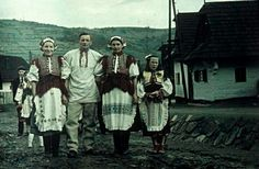 Polomka Folk Costume, Costumes, Ancestry, Folk Clothing, Embroidery, History, Painting, Technology, Collection