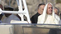 Pope Francis visits Lampedusa island