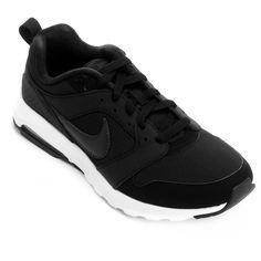 Uma releitura de dois modelos clássicos da marca, o Tênis Nike Air Max Motion Preto e Branco foi produzido para oferecer maior conforto. O calçado traz amortecimento e cortes profundos no antepé para flexibilidade. | Netshoes