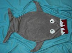 Hai Pucksack Schlafsack Shark Puckbag Sleeping Bag