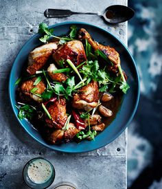 Black-beer chicken with ginger, garlic and soy sauce :: Gourmet Traveller Magazine Mobile  #craftbeer #beer