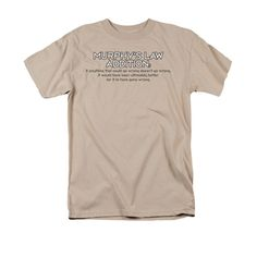 Murphy's Law Addition Adult Regular Fit T-Shirt
