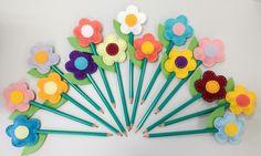 Ponteiras de lápis flor by Anapsiana