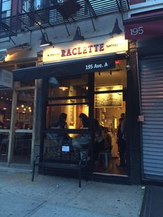 Raclette - New York, NY, United States. Raclette NYC