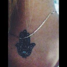 #Hamsa #tattoo #hand #protection #evil #eye
