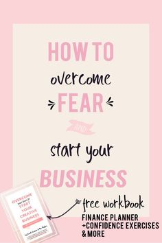 How to conqueror the most common fears that entrepreneurs experience. The fear about finances, experience and the unknown. Overcome your fear and use it to build a better business.