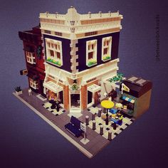 Cheese Shop and Wine Store Modular MOC's | by betweenbrickwalls