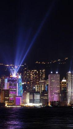 HAPPY NEW YEAR!!.............................Night, Light, Hong Kong, China