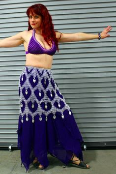 Fantasia Skirt + Chainmail Top by *Utopia-Armoury on deviantART
