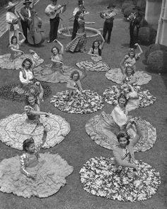 dance lesson 1950s
