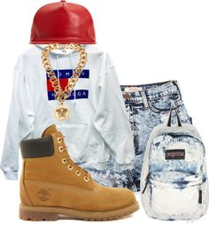 """acid wash"" by rayray669 ❤ liked on Polyvore"