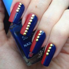 Philippine Flag Nail Art (and a plea from my heart) - The Nailinator