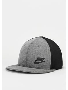 NIKE Snapback-Cap Tech Pack True carbon heather/black/silver