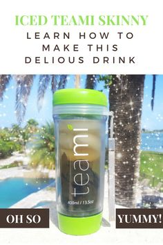 If hot tea isn't your thing, we've got your back! Learn how to make your Teami Skinny Iced Tea! You'll still get all the metabolism boosting benefits you need to burn loads of calories! http://www.teamiblends.com/ICED-TEAMI-SKINNY