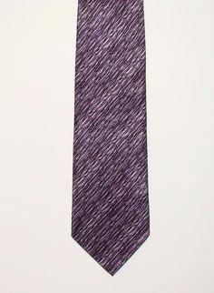 Umberto Bossi Mens Purple All Silk Hand Made Dress Neck Tie Necktie 58in #UmbertoBossi #Tie