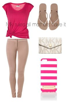 """""""Michael Kors"""" by tykiah-cute02 ❤ liked on Polyvore"""