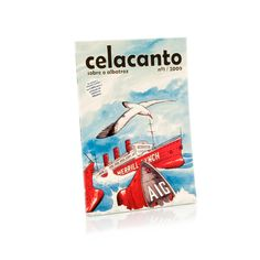 The first Celacanto comprises written and graphic works by various authors about the albatross. For each book we sell, we donate half its price to the Save the Albatross campaign.