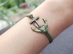 anchor charm braceletanchorcharm by INFINITYBRACELETLOVE on Etsy, $2.99    http://www.etsy.com/listing/126396555/anchor-charm-bracelet-anchorcharm?