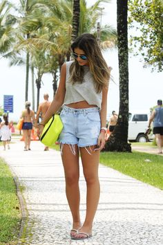 Meu look – Beach!