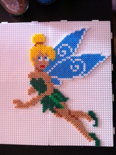 Tinker Bell hama beads by tullemuzz