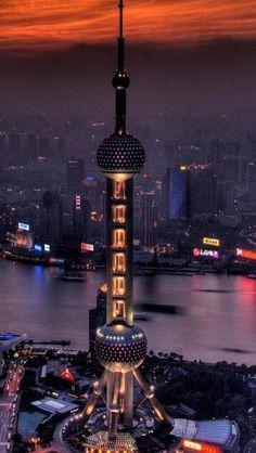 Pudong, Shanghai, China, Asian, Traditional, Characteristics, City,  #architecture ☮k☮