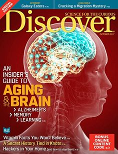 Discover - Discover magazine provides a comprehensive look into the latest news in the world of science and the effect it has on our everyday lives. Sure to satisfy the curiosity of your most inquisitive customers, Discover is a must-have magazine for your waiting room.