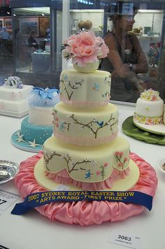 Sydney Easter Show 2007 - competition cake by Temeraire, via Flickr