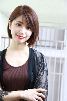 52 Beautiful Teen With Short Hairstyle That Can To Try Staying beautiful is a comprehensive package your physical look and body gestures bring along. If you've got thin hair, then […] Short Bob Hairstyles, Hairstyles Haircuts, Girl Short Hair, Short Hair Cuts, Medium Hair Styles, Short Hair Styles, Korean Short Hair, Japanese Haircut Short, Asian Bob Haircut