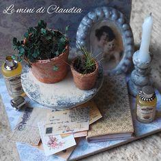 Vintage romantic display♡ ♡ By Le Mini di Claudia