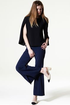 Carla Open Sleeve Top Discover the latest fashion trends online at storets.com