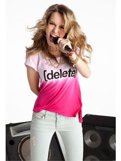 Bridgit Mendler working with Seventeen Magazine and the Delete Digital Drama Campaign. STOMP Out Bullying is honored to be the charity partner!